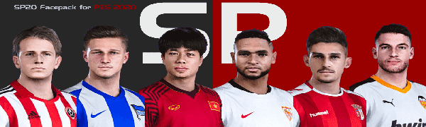 PES 2020 SmokePatch Face Pack – 1429 faces
